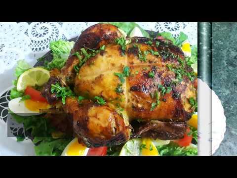 اول مرة نحمر دجاجة 🐔كاملة في tourne-broche ادخلوا تشوفوا النتيجة مبهرة😲