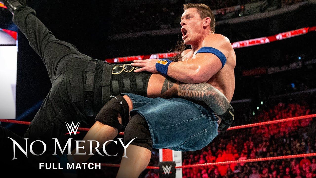Download FULL MATCH: Roman Reigns vs. John Cena: WWE No Mercy 2017