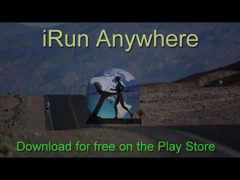 iRUN ANYWHERE: Run Anywhere In The World On Your Treadmill