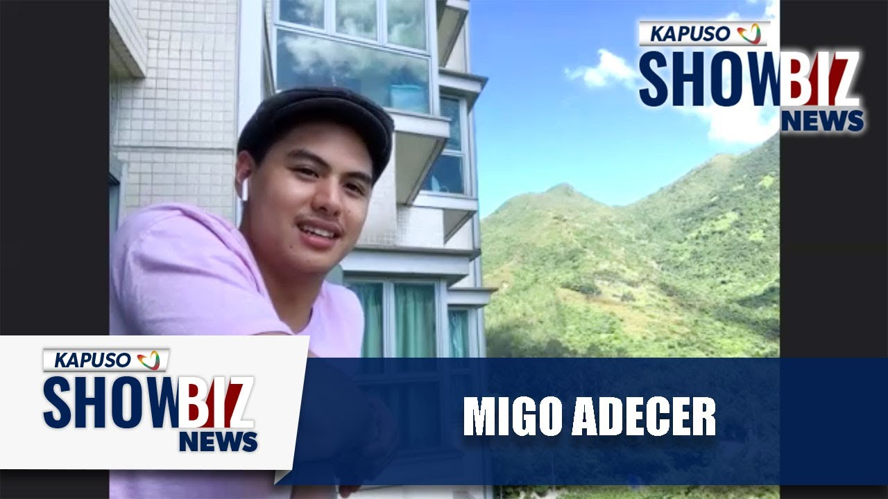 Kapuso Showbiz News: Migo Adecer talks about life in Hong Kong