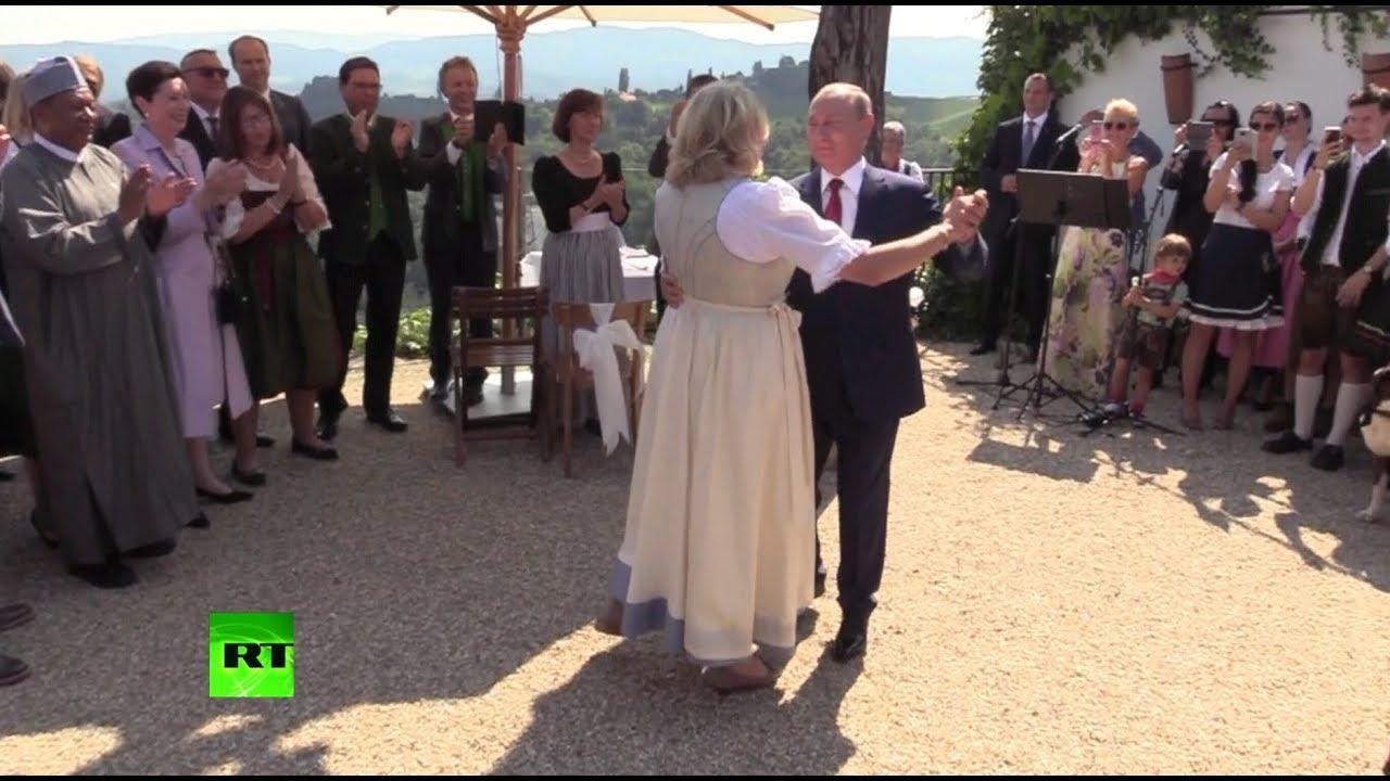 Владимир Путин и танцы на свадьбе, как знак победы над США