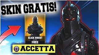 HOW TO HAVE THE FREE FREE BLACK CAVALIERE ON FORTNITE! 100% INDONE!