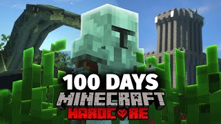 I Spent 100 Days in Medieval Times in Minecraft... Here's What Happened