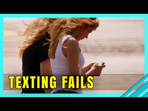 When Texting While Walking Goes Wrong - Funny Accidents and Fails