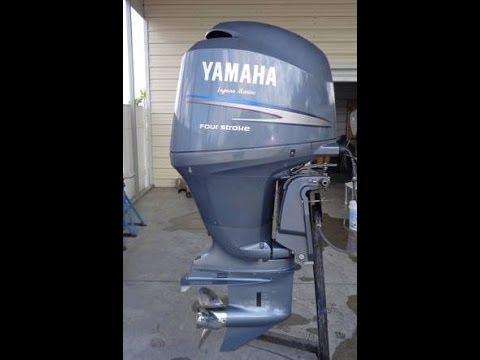 2005 yamaha 150 h p 4 stroke 20 shaft youtube for Yamaha 150 2 stroke