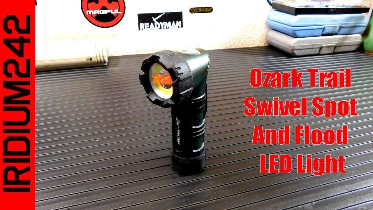 Ozark Trail Focusing DEL Lampe de poche 3 Light Modes 400 lm