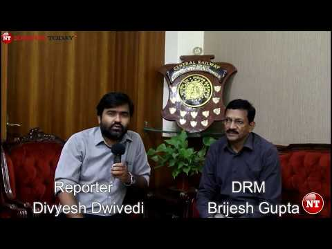 Brijesh Gupta, DRM of Central Railway Zone | Nagpur Today