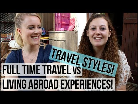 Living Abroad Vs Digital Nomad Lifestyle Experiences | Chatting w/NonStopParis!