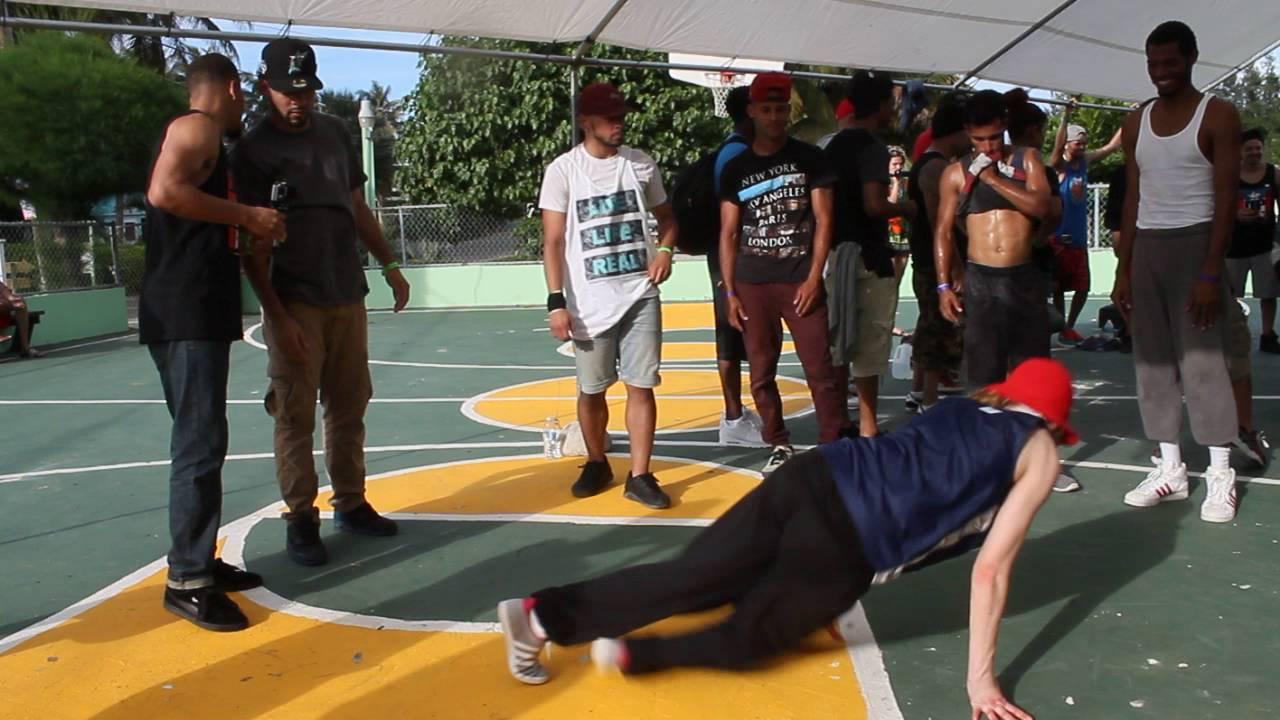 Download Puerto Rock Steady 2016. Cypher Bboy ñingo(Shipuden crew) vs Bgirl AT (Flow Mo)