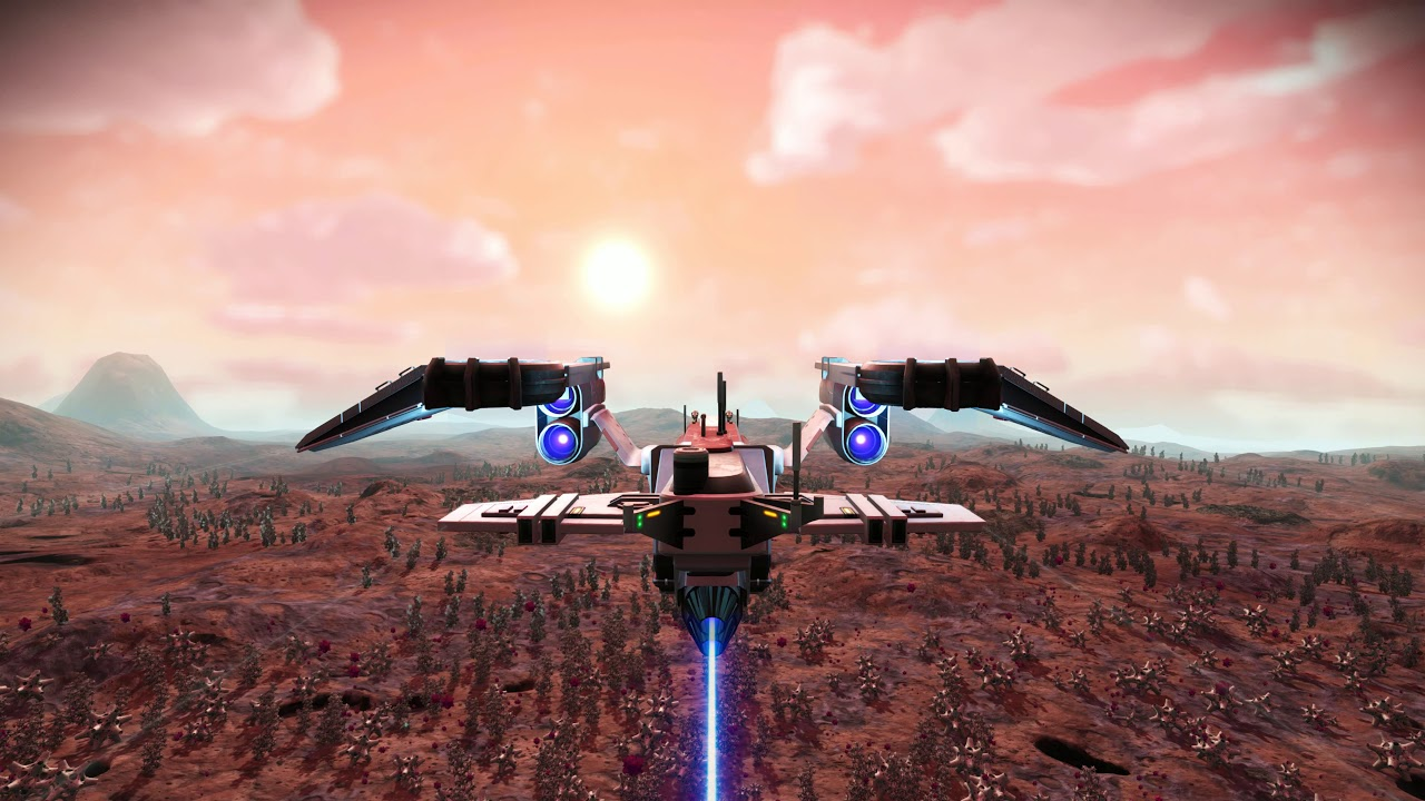 No Man S Sky 4k Cruising Uncharded Planet 2 Live Wallpapers