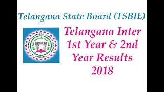 TS 1st year Results 2018   TS 2nd Year Results 2018   Telangana Intermediate Results 2018