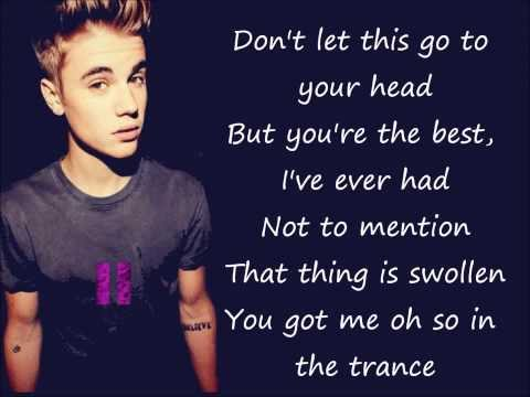 - Justin Bieber Hold Tight LYRICS ON SCREEN / LETRAS :)