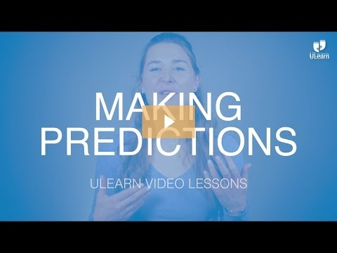 ULearn English School: Intermediate - MAKING PREDICTIONS