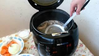 как приготовить нежирный куринный бульон в мультиварки