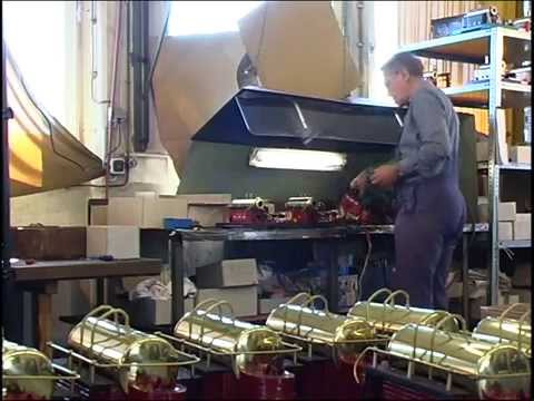 The production of Wilesco model steam engines