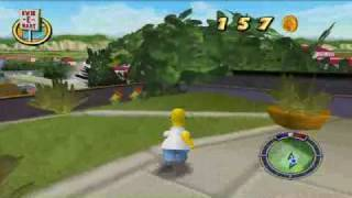 The Simpsons Hit and Run (PC) Gameplay