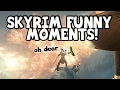 MY FIRST TIME USING DRUGS! (Skyrim Funny Moments)