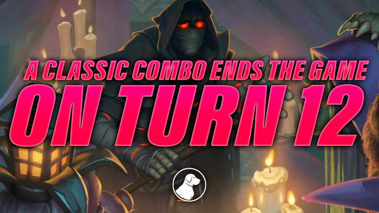 A Classic Combo Ends the Game at Turn 12   Dogdog Hearthstone Battlegrounds