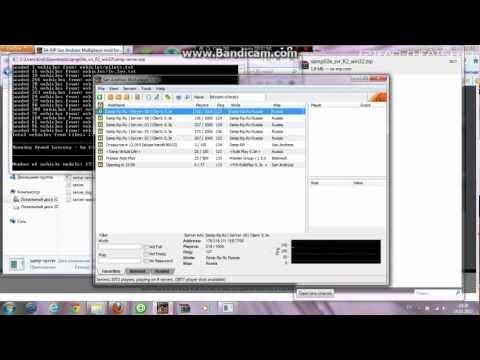 видео: Создание сервера samp (gta san andreas multiplayer): Как создать сервер samp?