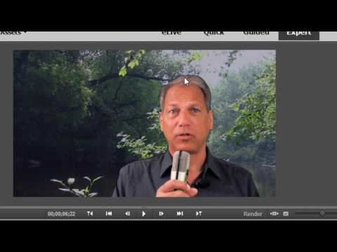 Chroma Key and Videomerge in Premiere Elements 15