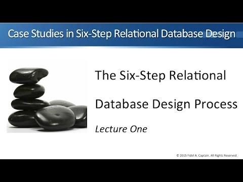 Chapter 11 Database Design Case Study 1 - Relational Database