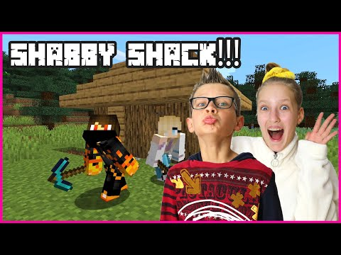 BUILDING THE SHABBY SHACK with RONALD!!!