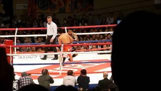 山中慎介が前王者のルイス・ネリに2回TKO負け WBC世界バンタム級