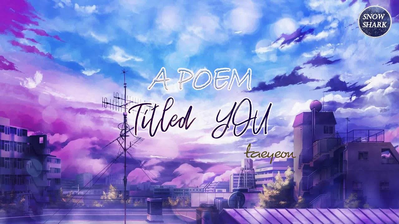 [VIETSUB + LYRICS] Taeyeon (태연) - A Poem Titled You / 그대라는 시 (Hotel Del Luna OST part.3) #1
