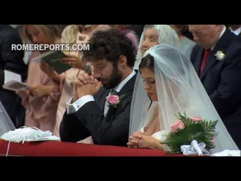 Getting married in rome by the pope