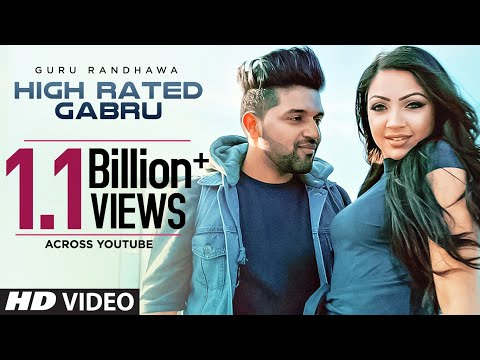 Guru Randhawa: High Rated Gabru Official Song  Directorgifty  T-series