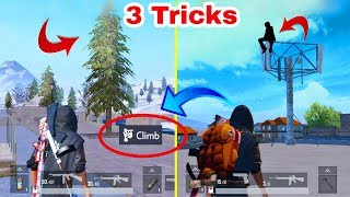 Awesome PUBG Mobile 3 New Tricks || Only For Pro Player 0.000% People Know This