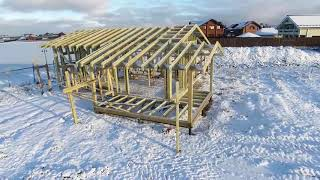 Строительство домов по каркасной технологии в Санкт-Петербурге и Ленинградской области