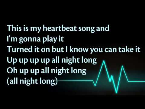 Kelly Clarkson - Heartbeat Song (+Lyrics)