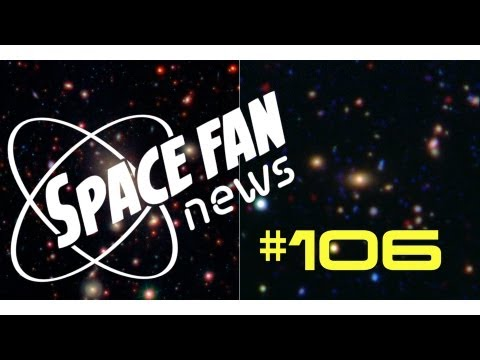 Large Galaxies Stop Eating with Age; New Kind of Star Cluster Discovered: Space Fan News #106