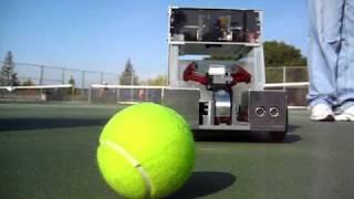 UC Berkeley ME102 - BearClaw - Tennis Ball Collector (1/4)