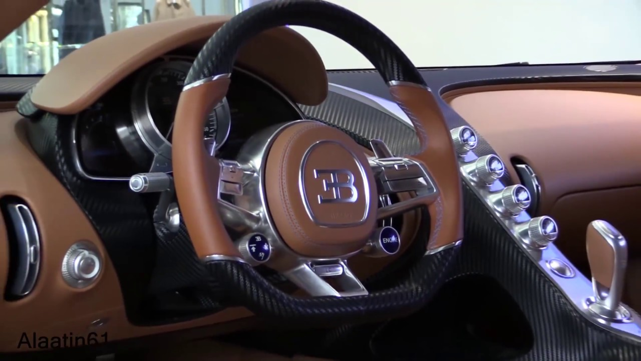 bugatti chiron 2017 interior review dk youtube. Black Bedroom Furniture Sets. Home Design Ideas