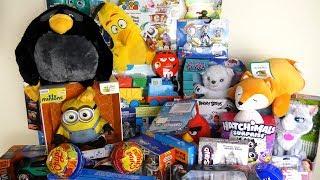 A Lot of Toys Mega Unboxing fun toys