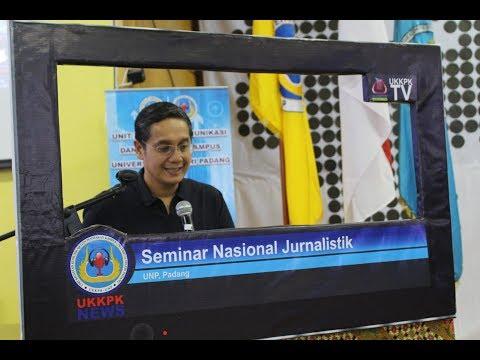 (Hot News) Seminar Jurnalistik Bersama Putra Nababan