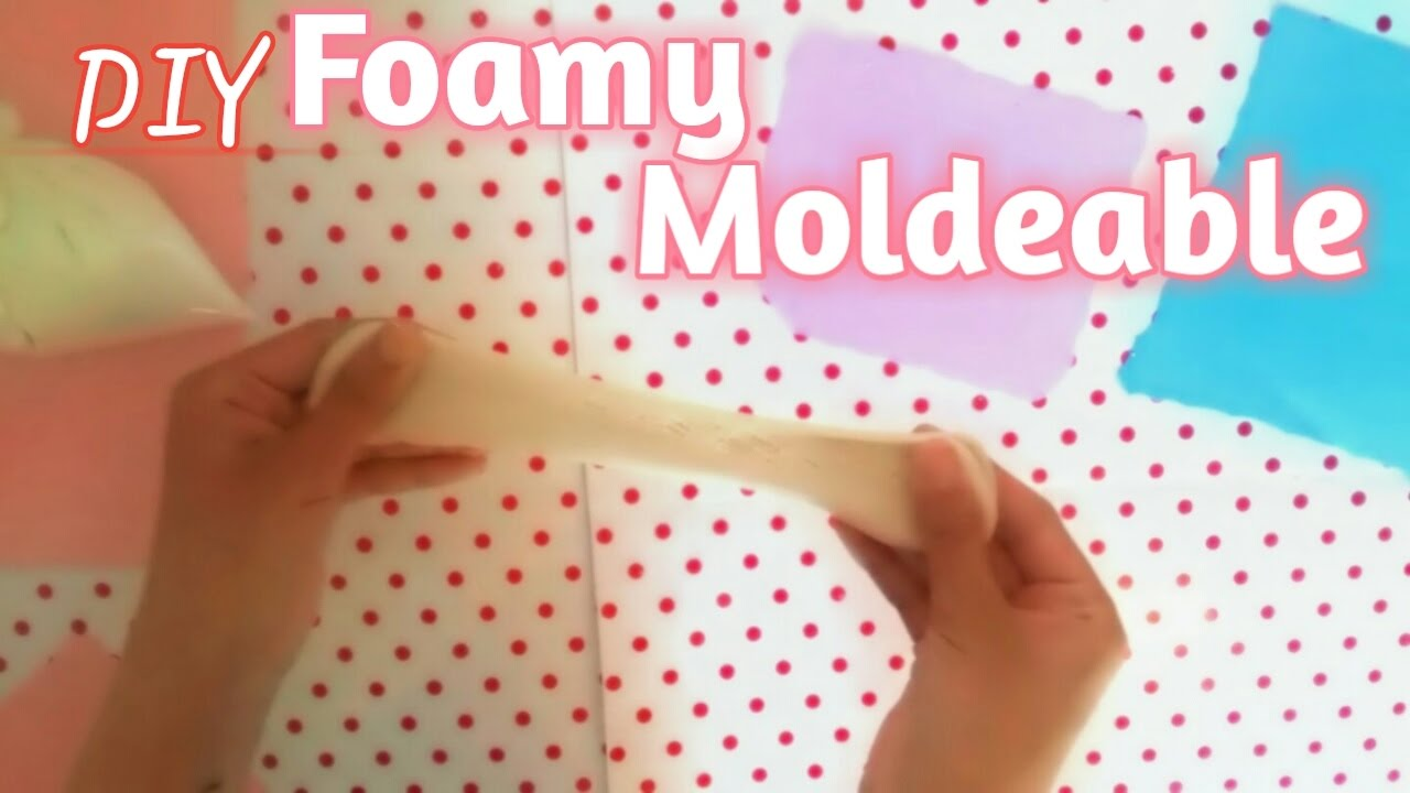 5fe4561695d Diy ✓Como hacer Foamy moldeable - YouTube