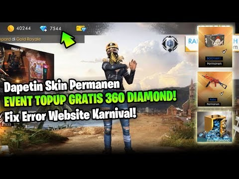 Tutorial Event Top Up Gratis Diamond Dan Fix Error Website Karnival - Garena Free Fire