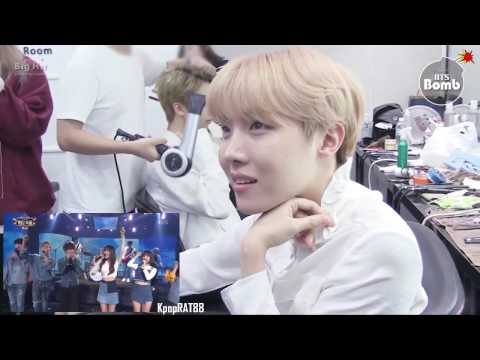 161229 BTS(방탄소년단) Reaction To 97 Liners Stage - I'm A Flying Butterfly @KBS Gayo Daechukje