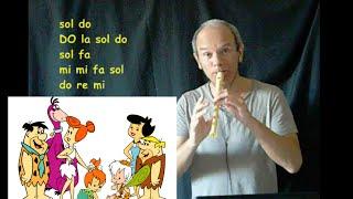 Gli Antenati - The Flinstones (SIGLA Cartone Animato allegra e famosa)