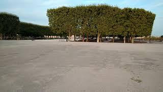 Монпелье. парк