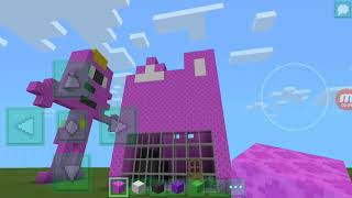 How to make pinkfong house minecraft