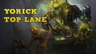League of Legends - Yorick Top (vs. Garen) - Full Gameplay
