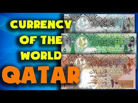 Currency Of The World - Qatar. Qatari Riyal. Exchange Rates Qatar.Qatari Banknotes And Qatari Coins