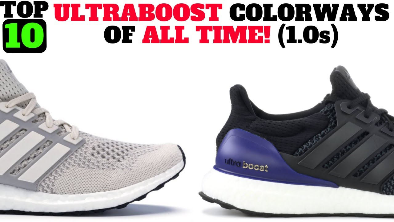 TOP 10 adidas UltraBOOST OG Colorways