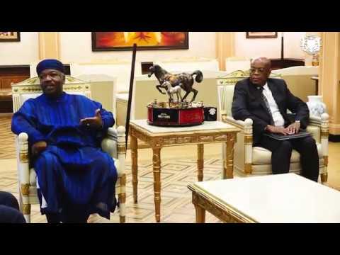 Rencontre entre S.E.M. Ali Bongo Ondimba et le Premier ministre le 29 avril 2019