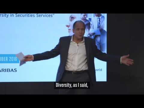 TED Talk - Diversity in Securities Services by Oern Greif