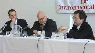 1) Higher Education and Sustainability: Leon Botstein and Andrew Revkin